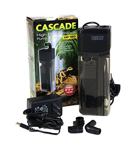 Exo Terra Cascade High Performance Pumpe und Filter hp180