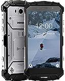 DOOGEE S60 Lite Telephone Portable Debloqué, 4G Smartphone Incassable Android 8.1 Octa-Core IP68 Étanche Antichoc Double SIM 4GO+32GO 16.0MP Caméra, 5,2 Pouces 5580mAh, Charge sans Fil NFC,Argent
