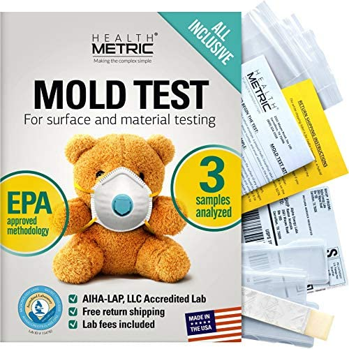Mold Test Kit for Home All Inclusive Detection Kit DIY Mold Detector for Visual incl Black Mold product image