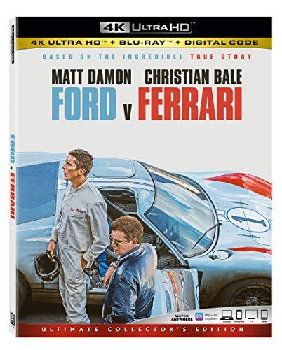 Ford v Ferrari 4k Ultra Hd [Blu-ray]