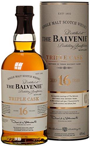 Balvenie 16 Years Old Triple Cask mit Geschenkverpackung Whisky (1 x 0.7 l)