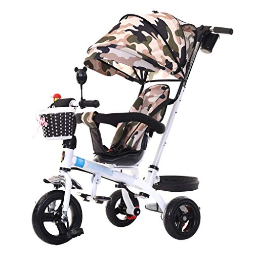 Buy Bargain Unique Baby Stroller Tricycle Bike for 1-6 Years Old Kids Carbon Steel Frame Children's ...