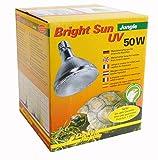 Lucky Reptile BSJ-50 Bright Sun UV Jungle, 50 W, Metalldampflampe für E27 Fassung mit UVA und UVB Strahlung (Vorschaltgerät erforderlich)