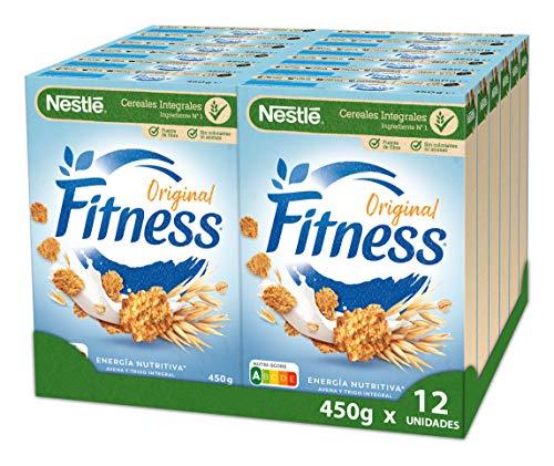 Cereales Nestlé Fitness Original - 12 paquetes de 450 g