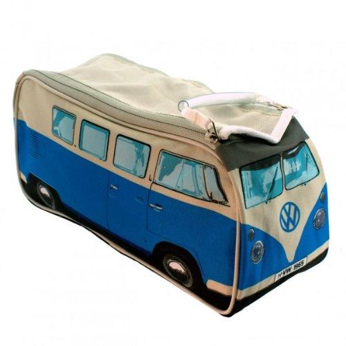 Kulturbeutel - VW Bus T1 - Schminktasche - Tasche - blau