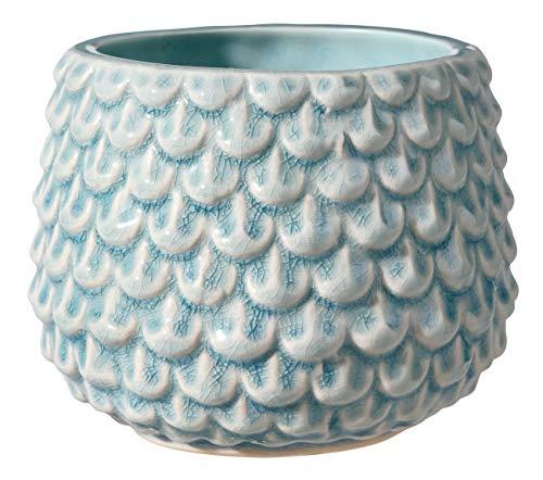 Bloomingville Macetero, azul celeste, cermica