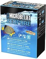 MICROBE-LIFT Zeopure - Premium Zeolith medium filtracyjne, pomaga w walce z algami, toksycznymi substancjami i metalami ciężkimi w akwarium, 1000 ml