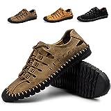 Été Sport Sandales Hommes en Plein Air Chaussures d'eau pour Randonnée Trekking Courir Respirant Séchage Rapide Sneaker Plus La Taille (40.5 EU=40 CN, khaki1)