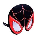 Sun-Staches Costume Sunglasses Miles Morales Black Spider Man Party Favors UV400