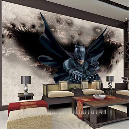 3d Erstaunliche Batman Wand Wand Benutzerdefinierte Universelle Foto Wallpaper Super Hero Zimmer Dekor Wand Schlafzimmer Kinderzimmer Backgroun D Wand Breite 200cm s Höhe140cm pro