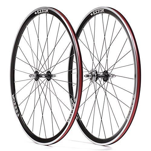 Essor USA Bolt Aluminum Clincher Front/Rear Track Wheel Set, 700cm by Essor USA