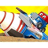 巨大ドリル/ガーデニングトラック、ハーヴェイのお助けに参る!/ゴミ収集トラック/マグネットクレーントラック