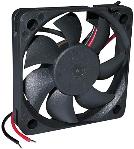 AERZETIX - Ventilador Axial de Refrigeración - para Caja de Ordenador PC - Vapo - Termoplástico - 12V DC - 50x50x10mm – 18.59m3/h - 4800rpm - 0.05A -0.6W - 25.6dBA - C46929