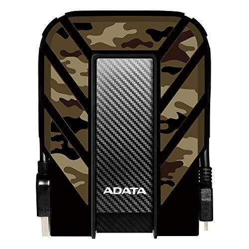 Adata HD710 Pro Military-Grade 2 TB Portable External Hard Drive - Camouflage