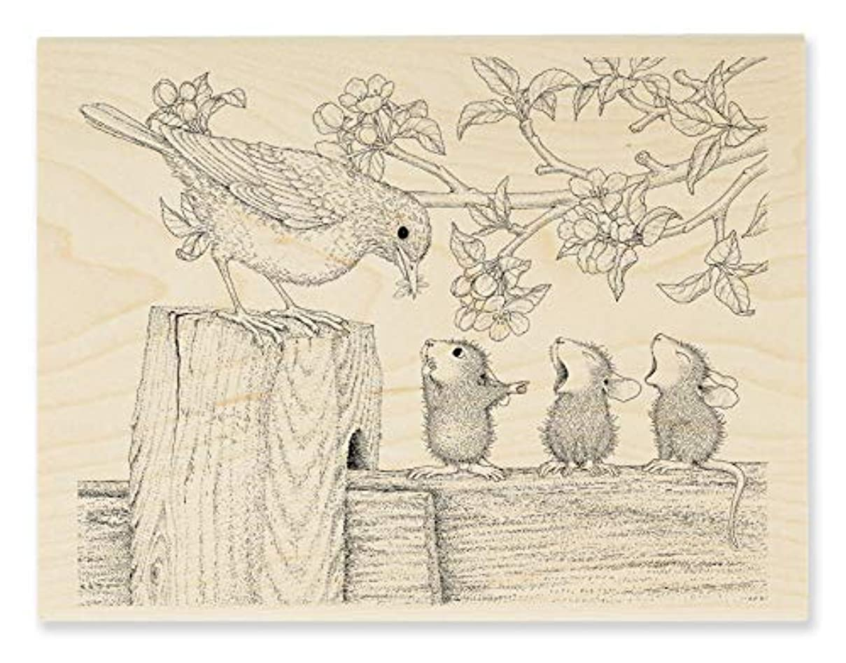 Stampendous HMR129 House Mouse Tweet Treat, Stamp
