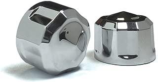 Diamond Cut Crown Bolt Cap Kit for M8 Chrome (53 Piece)