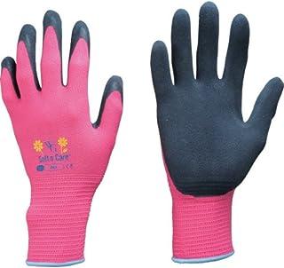 東和コーポレーション 《ガーデニング手袋》 ウィズガーデン フローラ ピンク 7/Sサイズ No.315