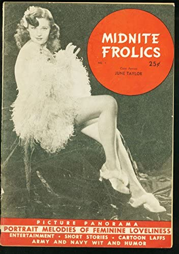 MIGNIGHT FROLICS Sale special price #1-1940'S-PIN-UP MAG-RARE G OFFicial store