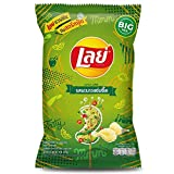 LAYS Brand, Crispy Potato Chili Lime Flavor, 73g X 2 Packs