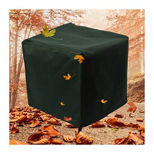 YJFENG Cubierta De Mesa Y Silla Al Aire Libre, Oxford De Alta Resistencia 600x300D Impermeable A Prueba De Viento, Cuadrado Cubierta De Muebles De Jardín (Color : Green, Size : 100x100x85cm)