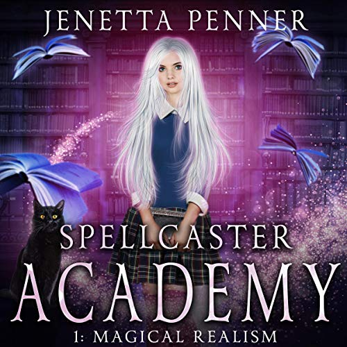 Spellcaster Academy audiobook cover art