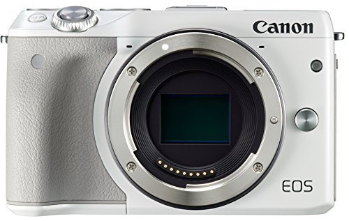Canon EOS M3 (White Body Only) - International Version