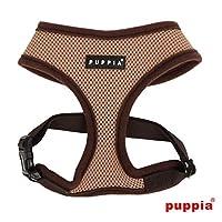 puppiapuppia正規販売店 pdcf-ac30胴輪 ソフトメッシュハーネス サイズ XS S M L M,BEIGE