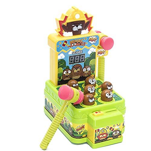 Spaß Interaktiv Spaß Hamster Spielzeug Einjähriges Baby Kind Kleinkind Junge Elektrische Puzzle Percussion Spielmaschine Für Erwachsene zum Spielen (ohne Batterie) Funny Family Spielzeug perfekte Gesc