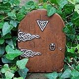 Puerta mágica de hadas (tamaño grande)–Puerta en miniatura para rodapiés, paredes...