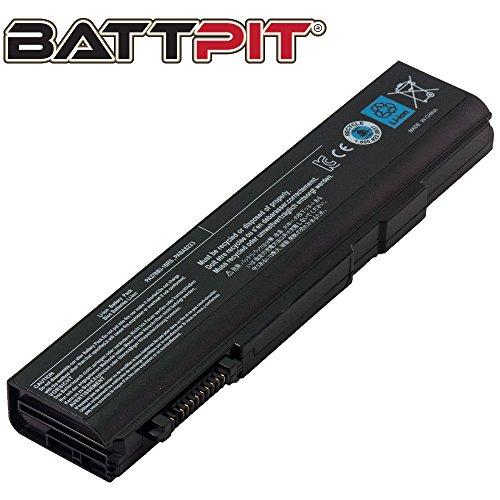 Battpit Laptop Akku für Toshiba PA3786U-1BRS PA3787U-1BRS PA3788U-1BRS PABAS221 PABAS222 PABAS223 Tecra A11 M11 S11 A11-S3512 M11-S3450 - [6 Zellen/4400mAh/48Wh]