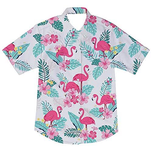 AIDEAONE Niños Camisetas de Manga Corta Camisas con