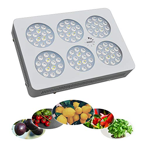 LED-Pflanzenlampe 270VR für Zitronenbaum, Chili, Tomaten, Paprika, Kräuter, Heilpflanzen