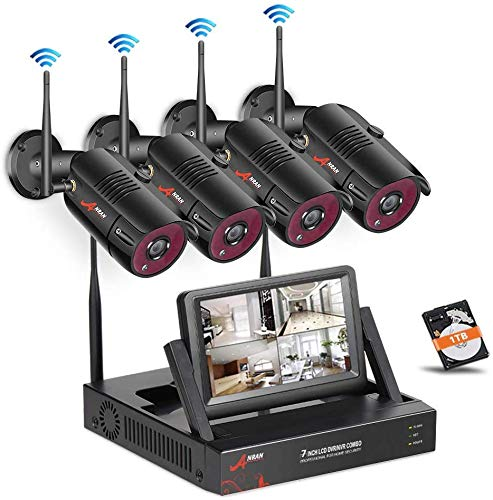 Wireless CCTV Security Systems, SWINWAY Wireless Security Camera...