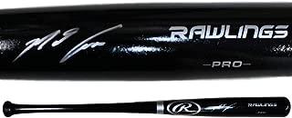 Nolan Arenado Autographed/Signed Colorado Rockies Rawlings Black Bat FAN