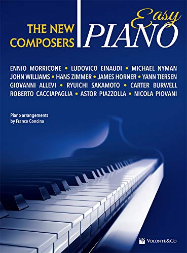 VARIOUS: EASY PIANO THE NEW COMPOSERS