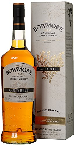 Bowmore Gold Reef mit Geschenkverpackung Whisky (1 x 1 l)