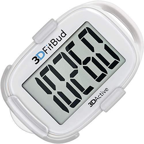 3DFitBud Simple Step Counter Walking 3D Pedometer