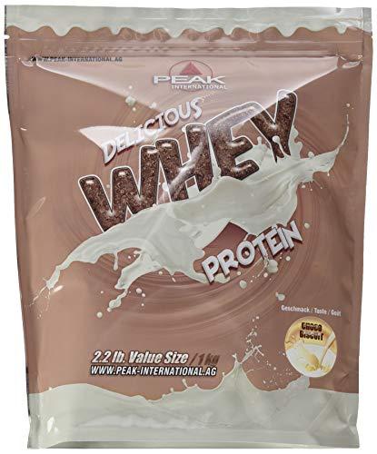 PEAK Delicious Whey Protein Choco Biscuit 1000g