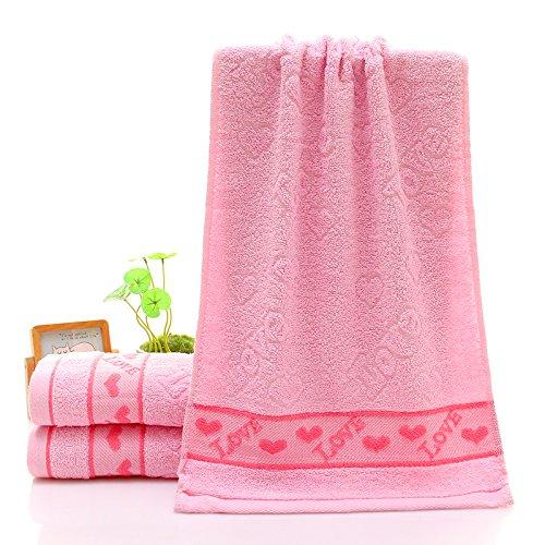 ZHFC serviette box seul chargement mariage anniversaire mariage anniversaire employé année don prix seront 74x33cm,poudre de couleur gris clair peach