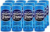 A TOUCH OF SWEETNESS: Indulge in a touch of sweetness with this famous flavor combination from Mexico. Vanilla & cinnamon enhance this cold-brew coffee, perfectly contained in a palm-sized can. GRAB & GO COFFEE: Rise above the daily grind with High B...