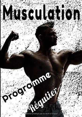 Musculation programme régulier: Journal de musculation. Suivi régulier de vos exercices de Force/Stretching/Cardio pour hommes et femmes 122 pages  17,8 cmX25,4 cm