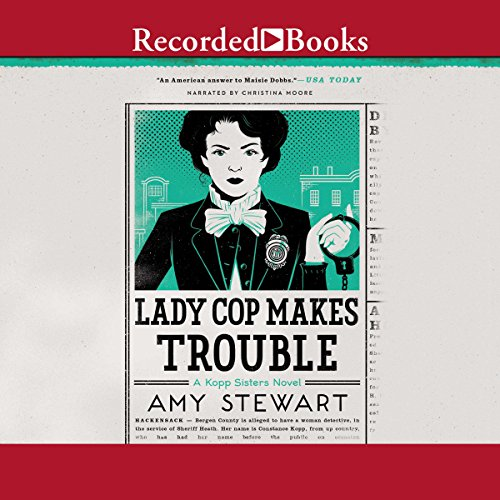 Lady Cop Makes Trouble  By  cover art