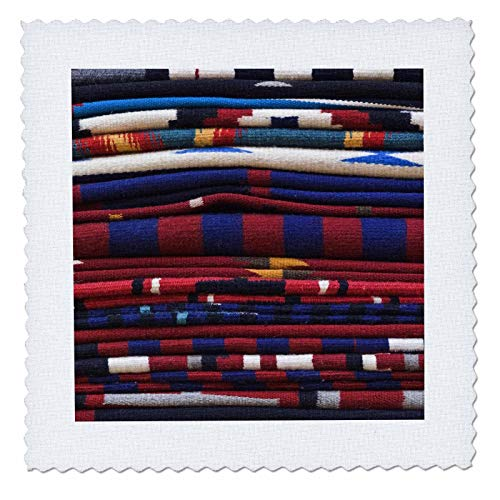 3dRose New Mexico, Gallup, Handmade Navajo Rugs, Textile-US32 RTI0048-Rob Tilley-Quilt Square, 25 by 25-Inch