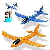 Dekewe Avion Planeador De Espuma,Aviones Juguete, Glider Aviones, AvióN De Lanzamiento Juguetes para NiñOs, Juguete Volador para NiñOs como Regalo