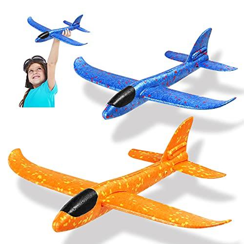 Dekewe Avion Planeador De Espuma,Aviones Juguete, Glider Aviones, AvióN De Lanzamiento Juguetes...