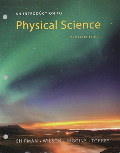 Bundle: An Introduction to Physical Science, 14th Loose-leaf Version + WebAssign Printed Access Card for Shipman/Wilson/