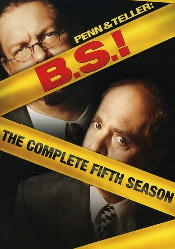 Penn & Teller Bs: Complete Fifth Season (2pc) [DVD] [Region 1] [NTSC] [US Import]