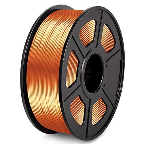 PLA 3D Printer Filament 1.75MM PLA Silk Filament 1KG for 3D Printer 3D Pen PLA Shiny Silky Copper