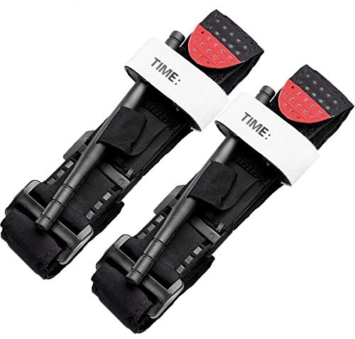 BEIAOSU Torniquete 2PCS Cinturón de Primeros Auxilios Torniquetes Tactico para el Control de la Pérdida de Sangre Senderismo para Exteriores 🔥