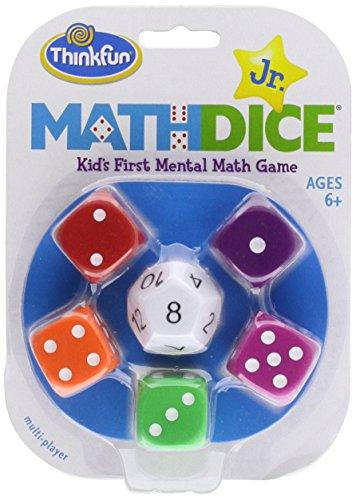 Math Dice Jr.: Kid's First Mental Math Game